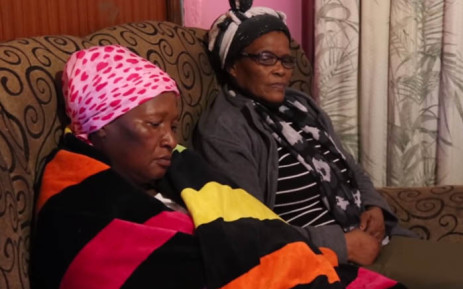 Family members of slain constable Vuyo Kosani. Picture: EWN.