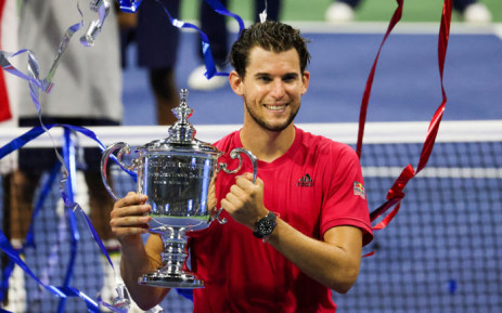 Dominic Thiem produced a historic comeback to beat Alexander Zverev in a nervy five-setter and win the US Open on 13 September 2020 for his first Grand Slam title. Picture: @usopen/Twitter