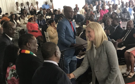 Zimbabwe's new cabinet ministers took their oath of office at a ceremony at State House on Monday 10 September 2018. Picture: @KirstyCoventry/Twitter