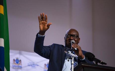 FILE: Gauteng Premier David Makhura. Picture: Kayleen Morgan/EWN