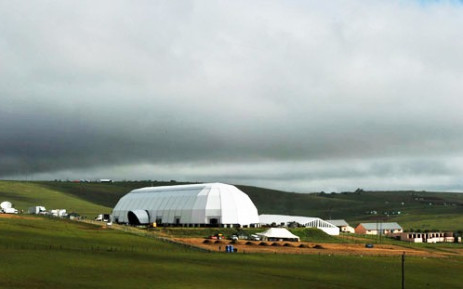 Preparations in Qunu underway where Nelson Mandela's funeral will be held on 15 December 2013. Picture: GCIS.