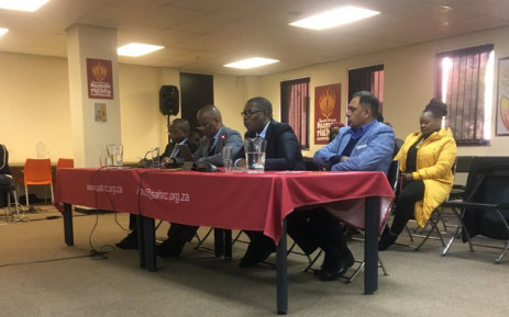 Gauteng Education MEC Panyaza Lesufi making his oral submission on 24 July 2019 at the Alexandra inquiry led by the SAHRC held in Braamfontein, Johannesburg. Picture: Edwin Ntshidi/EWN.