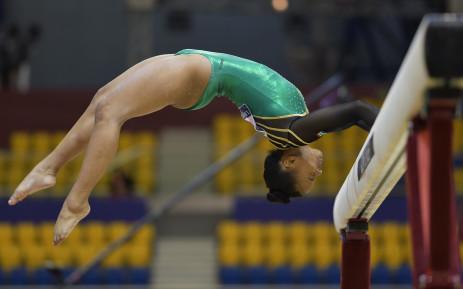 SA gymnast Caitlin Rooskrantz. Picture: Supplied