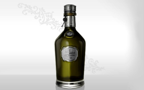 A bottle of 50-year-old Glenfiddich single malt whisky. A bottle of the whisky was sold by Makro for R300,000 on 18 October 2013. Picture: glenfiddich.com
