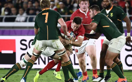 South Africa has beaten Wales to secure its spot in the Rugby world Cup final against England. Picture: Twitter/RWC