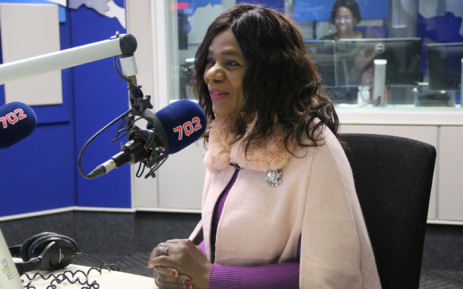 Former Public Proctor Advocate Thuli Madonsela during an interview on the Eusebius McKaiser Show on 702. Picture: 702.
