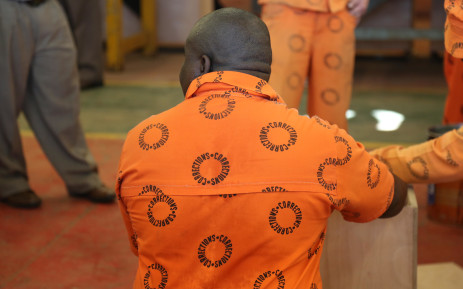A file image of prisoner.  Picture: Christa Eybers/Eyewitness News