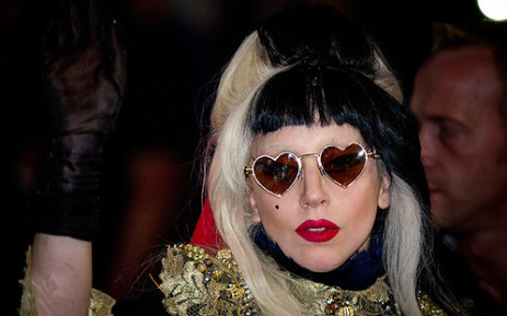 Pop star Lady Gaga. AFP
