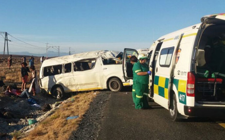FILE: The scene of an accident on the N1 between Leeugamka and Prince Albert Road in the Western Cape on 5 January, 2018. Picture: Supplied