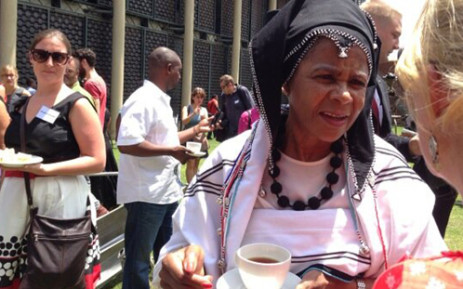 Academic and political activist Mamphela Ramphele announced a new political party platform on 18 February 2013 in Johannesburg. Picture: Alex Eliseev/EWN