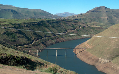 The Lesotho Highlands water project. Picture: Leeto M Khoza/EWN.