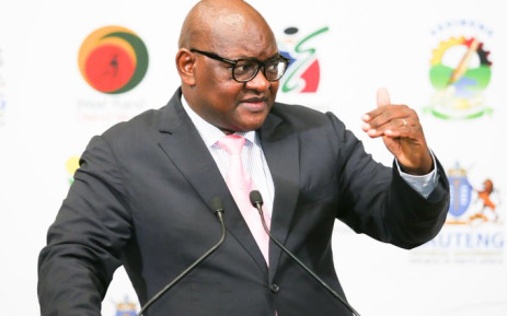 Gauteng Premier David Makhura on 1 October 2020. Picture: Twitter/@David_Makhura