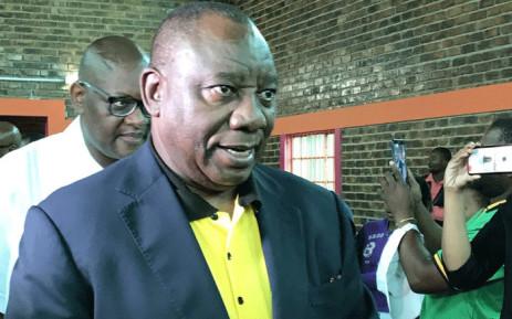 FILE: President Cyril Ramaphosa. Picture: Pelane Phakgadi/EWN