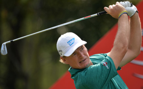 Ernie Els of South Africa tees off at the 6th hole during day two of the WGC-HSBC Champions tournament at the Shanghai Sheshan International Golf Club on November 1, 2013. Picture: AFP