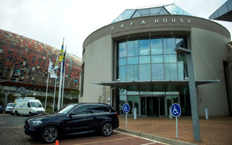 A picture shows the South African football Association (Safa) House in Johannesburg on 3 June, 2015. Picture: AFP.