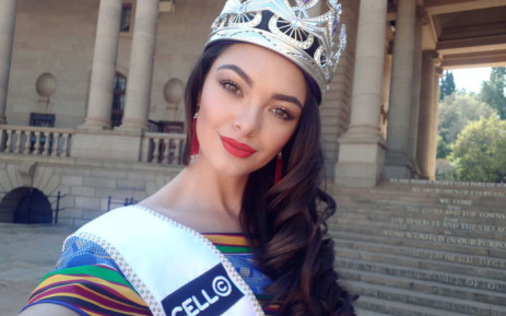 FILE: Miss South Africa 2017 Demi-Leigh Nel-Peters. Picture: @DemiLeighNP/Twitter