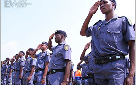 Members of the South African Police Service. Picture: EWN