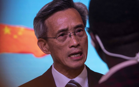 China's ambassador to South Africa Lin Songtian in Pretoria. Picture: Abigail Javier/EWN