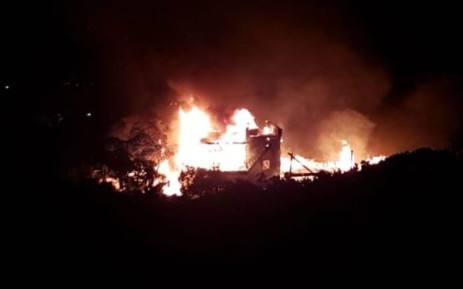 Investigation into cause of Cape St Francis home fire underway. Picture: NSRI