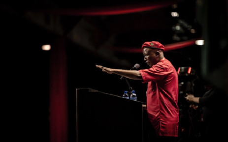 EFF leader Julius Malema. Picture: Sethembiso Zulu/EWN