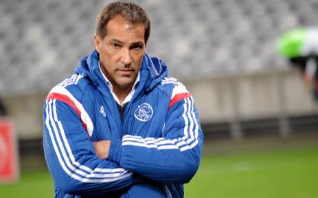 Ajax Cape Town coach Roger de Sa. Picture: EWN.