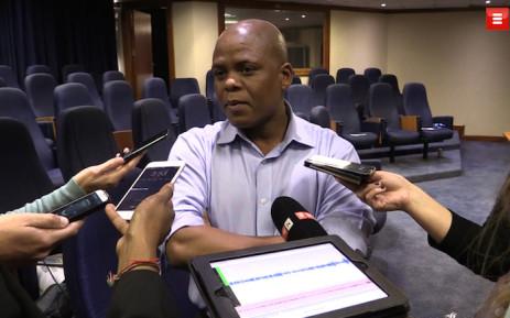 FILE: Eskom spokesperson Khulu Phasiwe. Picture: Louise McAuliffe/EWN