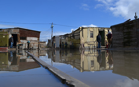 Residents of Kosovo informal settlement in Cape Town were badly affected by flooding caused by heavy rain in August 2013. Picture: Aletta Gardner/EWN