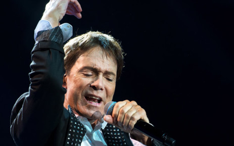 British rock singer Cliff Richard performs at the Ziggo Dome in Amsterdam, on 17 May 2014. Picture: AFP