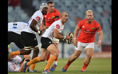 The Cheetahs took on Munster in the PRO14. Picture: @CheetahsRugby/Twitter.