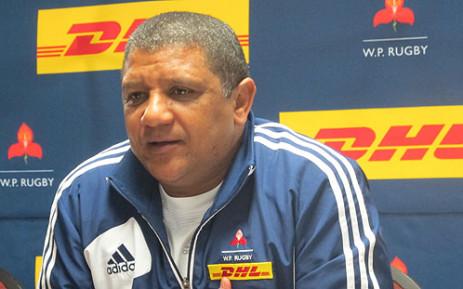 Western Province coach Allister Coetzee. Picture: Rafiq Wagiet/EWN
