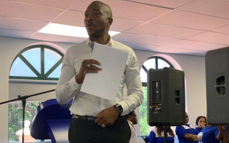 DA leader Mmusi Maimane addressed party staffers in Johannesburg on 12 December 2018 reflecting on the progress the DA has made this year. Picture:  @Our_DA/Twitter