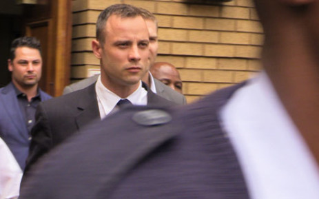 FILE: Oscar Pistorius leaves the High Court in Pretoria on 14 April 2014. Picture: Christa van der Walt/EWN