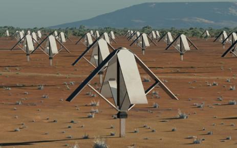 An artists impression of the SKA antennae. Picture: ska.ac.za