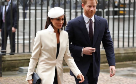 Meghan Markle and Prince Harry. Picture: Supplied.