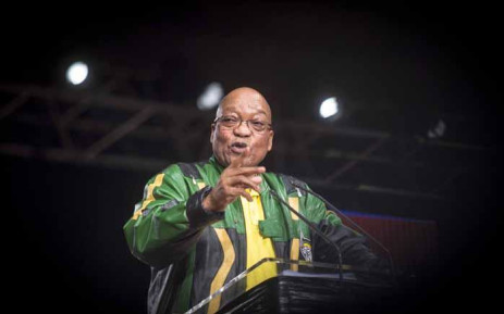 ANC President Jacob Zuma during his final plenary address on 5 July 2017. Picture: Thomas Holder/EWN
