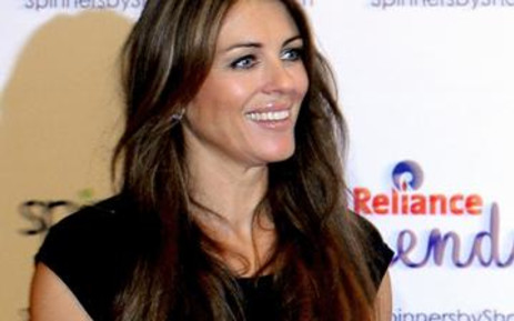 British actress Elizabeth Hurley. AFP