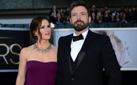FILE: Actor and director Ben Affleck and actress Jennifer Garner arrive on the red carpet for the 85th Annual Academy Awards in February 2013 in Hollywood, California. Picture: AFP.