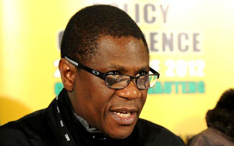 Gauteng ANC Chairman Paul Mashatile speaks to media at the ANC Policy Conference. Picture: ANC