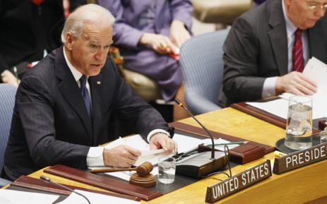 Joe Biden. Picture: United Nations Photo.