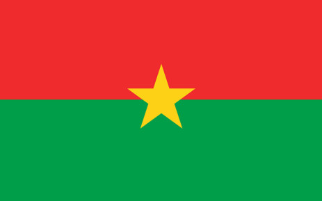 The flag of Burkina Faso. Picture: Wikimedia Commons.