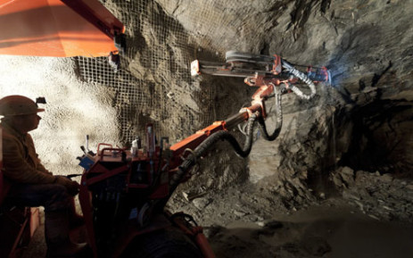 A mine shaft. Picture: AFP