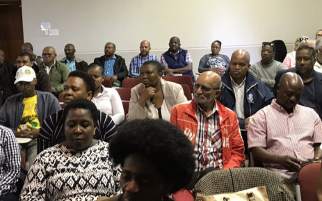 Emerging Western Cape farmers at a meeting with Agriculture, Forestry and Fisheries Minister Senzeni Zokwana under the auspices of AFASA (African Farmers' Association of South Africa) in Stellenbosch on 13 March 2019. Picture: Kevin Brandt/EWN