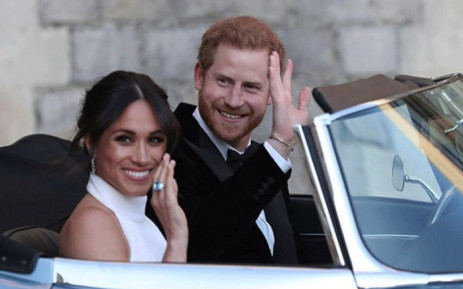 FILE: The Duke and Duchess of Sussex. Picture: @kensingtonfamily/instagram