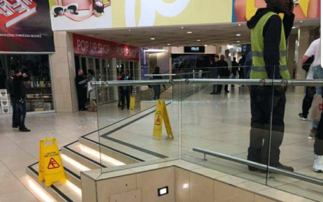 It's understood they received a tip-off that wanted criminals were at the East rand Mall and when officers spotted the gun men, there was a shootout. Picture: Intelligence Bureau SA/Facebook.
