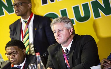 Agri SA President Dan Kriek addresses the media on 7 September 2018. Picture: Kayleen Morgan/EWN