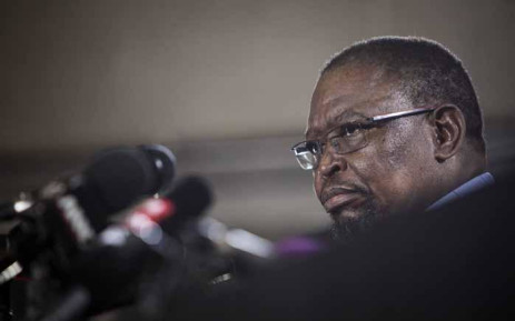 FILE: Enoch Godongwana, chair of the ANC's sub-committee on economic transformation, addressing the press predominantly on land appropriation without compensation. Picture: Thomas Holder/EWN.