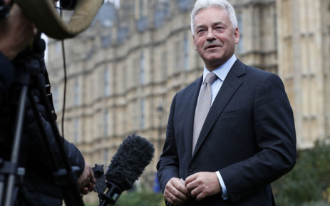 Conservative MP Alan Duncan gives an interview outside the Palace of Westminster in central London on 15  November 2018. Picture: AFP
