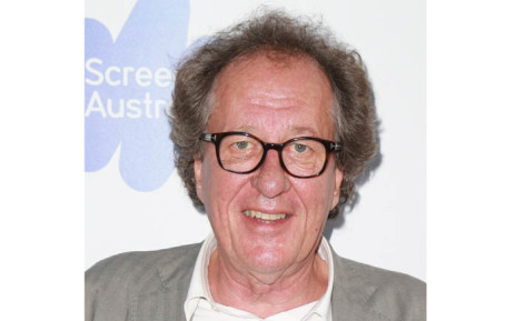 Geoffrey Rush's wife says tabloid slurs made her husband 'retreat'