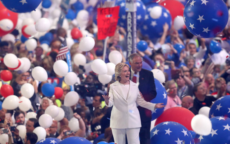 FILE: Democratic presidential candidate Hillary Clinton. Picture: AFP.
