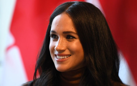FILE: Britain's Meghan, Duchess of Sussex during her visit to Canada House in thanks for the warm Canadian hospitality and support they received during their recent stay in Canada, in London on 7 January 2020. Picture: AFP